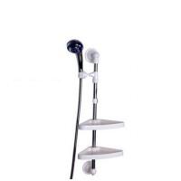 吸盘式浴室用组合架淋浴头置物架浴室淋浴喷头粘钩免钉挂钩卫生间承重式置物架