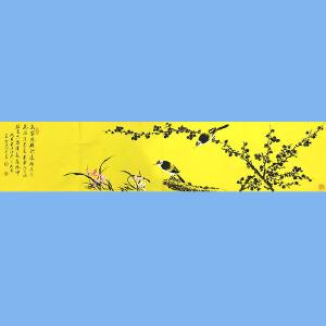 中美协会员,中书协会员,国家一级美术师,中国书画家杂志社艺术总监薛大庸(花鸟)2