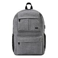 智高(ZHIGAO)双肩包 男女中学生书包休闲笔记本电脑背包 新款大容量多功能背包 ZG-8488灰色 当当自营