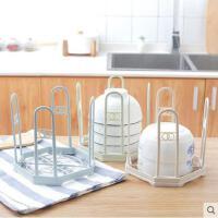 可折叠沥水架塑料碗碟架厨房盘子收纳架多功能置物架碟子架