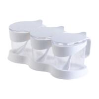 家用调味料收纳盒调料盒一体套装厨房用品调料罐子调味罐盐罐收纳用品