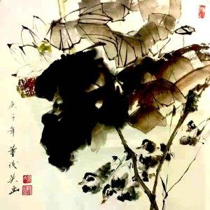 中国美术家协会理事,国家一级美术师,美国好莱坞电影公司总裁,中美慈善基金会会长,人民艺术家协会终身艺术顾问董俊英(荷塘)