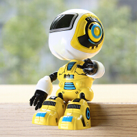 迷你合金机器人模型会说话的智能感应变形玩具摆件客厅装饰品儿童
