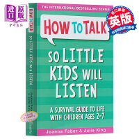 【中商原版】How To Talk So Little Kids Will Listen 儿童教育