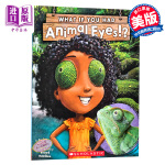 【中商原版】学乐 如果你有动物的眼睛 英文原版 What If You Had Animal Eyes!? 动物知识科