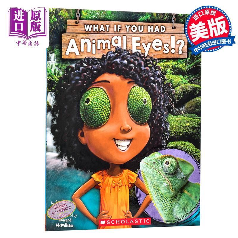 【中商原版】学乐 如果你有动物的眼睛 英文原版 What If You Had Animal Eyes!? 动物知识科普