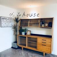 简约现代实木餐边柜日式家具北欧酒柜展示柜樱桃木色茶水柜小户型 双门
