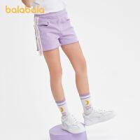 【品类日4件4折】巴拉巴拉童装女童裤子儿童牛仔短裤中大童新款夏装洋气潮时尚