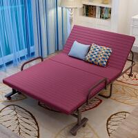 折叠床单人午休床双人行军床布艺家用床陪护床可折叠午睡床