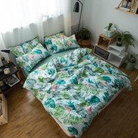 小清新碎花四件套全棉纯棉公主风少女心床单三件套床上用品 2.0m(6.6英尺)床 床单款套件