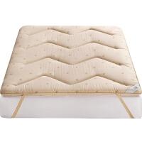 加厚羊毛床垫1.8m床褥子1.5m双人垫被学生宿舍单人1.2米榻榻米质量媲美慕斯喜临门顾家 索玛羊毛床垫加厚6CM