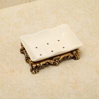 欧式陶瓷卫浴五件套装树脂刷牙漱口杯浴室套装牙刷架卫浴洗漱套件