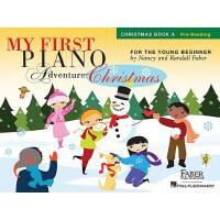 My First Piano Adventure Christmas, Book A: Pre-Reading 菲伯尔我的*次钢琴之旅:圣诞歌曲A