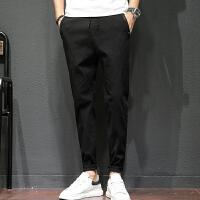 休闲裤男士秋季新款韩版青年运动裤男士宽松长裤潮流大码胖哥裤K9053