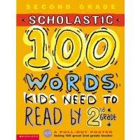 英文原版 100 Vocabulary Words Kids Need to Read by 2nd Grade Workbook 美国小学二年级趣味练习册 锻炼孩子的英语逻辑
