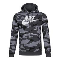Nike耐克2019年新款男子AS M NSW CLUB CAMO HOODIE POBB针织套头衫AR2868-06