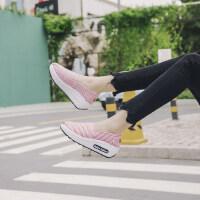 韩版百搭休闲帆布鞋女 新款厚底增高女鞋子懒人鞋 女士老北京布鞋女小白鞋女