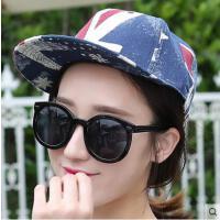 嘻哈平沿帽子 女网红同款时尚韩版潮防晒鸭舌帽户外运动新品男女士遮阳棒球帽