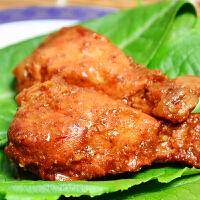 食为先快跑鸡腿30gX10包零食湖南特产香辣吃货卤味肉类