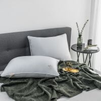 君别U款大豆纤维枕枕芯枕头单双人床上用品家用酒店整头芯(48*74/只)