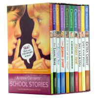 安德鲁克拉门校园系列英文原版Andrew Clements' School Stories