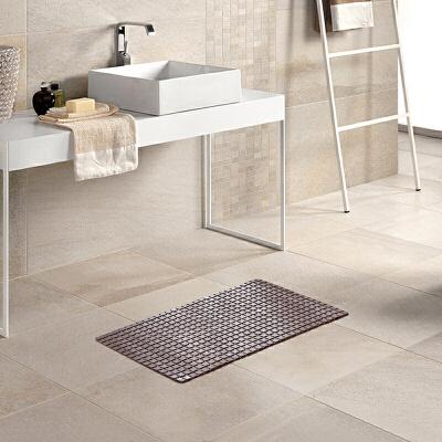 LOVO 方块按摩浴室地垫