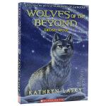 【中商原版】绝境狼王4 星梯的召唤 英文原版 Wolves of the Beyond #4 Frost Wolf 动