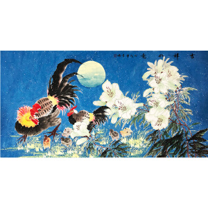 许芳楠《花鸟30》著名画家