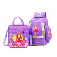 新款儿童包包 韩版小学生书包2-6年级 卡通美女双肩背包