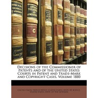 【预订】Decisions of the Commissioner of Patents and of the Uni