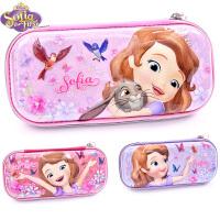 小学生笔袋女迪士尼苏菲亚公主儿童可爱铅笔盒韩国简约大容量笔袋