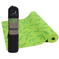 [当当自营]皮尔瑜伽 PVC6mm印花防滑瑜伽垫绿树叶 附带背包