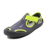 耐克(Nike )新款儿童鞋舒适儿童凉鞋 903631-002 灰色