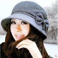 女士帽子新款秋季潮款韩国贝雷帽冬天可爱甜美知性帽