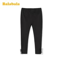 巴拉巴拉女童打底裤儿童裤子2020新款春装中大童童装弹力透气百搭