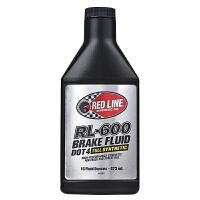美国原装红线RED LINE全合成刹车油DOT4制动液五类基础油RL-600