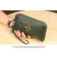 韩版手拿包女款拉链钱包长款大容量皮手包零钱包手机包潮