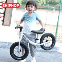 德国儿童平衡车小孩无脚踏自行车滑步车1-3-6岁溜溜车学步滑行车