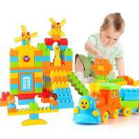 儿童积木玩具1-2周岁益智宝宝大号颗粒塑料拼装插3-6男女孩子礼物