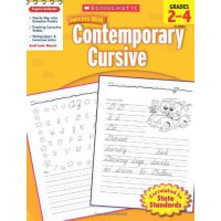 Scholastic Success with Contemporary Cursive, Grades 2-4 学乐