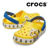 【秒杀价】Crocs童鞋 卡骆驰2019新款趣味学院小黄人小克骆格洞洞鞋|205512 趣味学院小黄人小克骆格