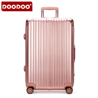 【支持礼品卡】DOODOO 抗压 耐摔 行李箱万向轮拉杆箱20寸登机箱男女旅行箱24寸硬箱子密码箱 D1510