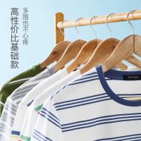 网易严选 男式条纹短袖T恤衫