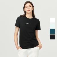 女式立体字母图案T恤