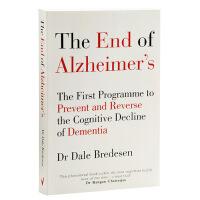 【中商原版】终结老年痴呆症:预防和逆转认知衰退 英文原版 医学研究 End of Alzheimers Dale Bredesen 戴尔布雷德森 阿尔兹海默症