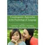 【预订】Crosslinguistic Approaches to the Psychology of Languag