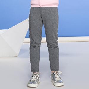 【双十二狂欢】水孩儿souhait女童新款针织花边打底裤AKTQH206