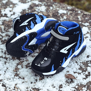 儿童鞋子男运动鞋中大童大棉鞋秋冬季男童鞋加绒保暖男孩童鞋男童