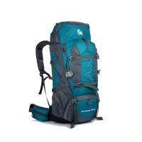 登山包大容量防水户外包男女旅行背囊CR支架透气双肩背包85L 85L