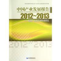 中国产业发展报告2012-2013 国家发展和改革委员会产业经济与技术经济研究所 编